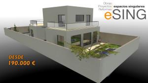 Esing realiza proyectos de vivienda/casas y las diseña a tu gusto
