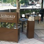 The library  Terraza Alonso Mtnez   Terrazas Madrid