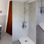Reforma completa de baño, tendedero y armarios en una vivienda particular. Obra hecha por eSING